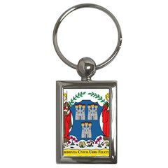 City Of Dublin Coat Of Arms  Key Chains (rectangle)  by abbeyz71