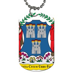 City Of Dublin Coat Of Arms  Dog Tag (two Sides)