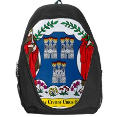 City Of Dublin Coat Of Arms Backpack Bag by abbeyz71