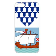 Flag Of Belfast Apple Iphone 5 Seamless Case (white) by abbeyz71
