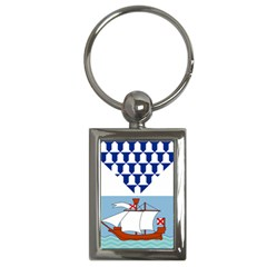 Flag Of Belfast Key Chains (rectangle)  by abbeyz71