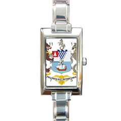 Coat Of Arms Of Belfast  Rectangle Italian Charm Watch