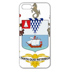 Coat Of Arms Of Belfast  Apple Seamless Iphone 5 Case (clear) by abbeyz71