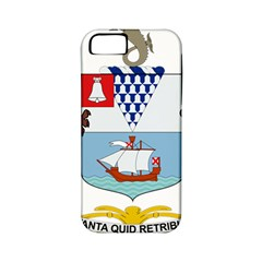 Coat Of Arms Of Belfast  Apple Iphone 5 Classic Hardshell Case (pc+silicone) by abbeyz71
