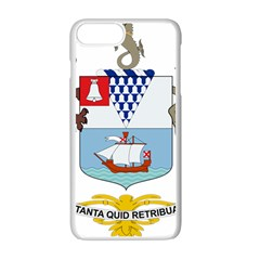 Coat Of Arms Of Belfast  Apple Iphone 7 Plus White Seamless Case