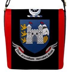 Flag Of Drogheda  Flap Messenger Bag (s) by abbeyz71