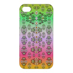 Summer Bloom In Festive Mood Apple Iphone 4/4s Premium Hardshell Case by pepitasart