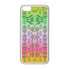 Summer Bloom In Festive Mood Apple Iphone 5c Seamless Case (white) by pepitasart
