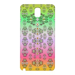 Summer Bloom In Festive Mood Samsung Galaxy Note 3 N9005 Hardshell Back Case by pepitasart