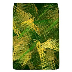 Green And Gold Abstract Flap Covers (s)  by linceazul