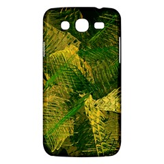 Green And Gold Abstract Samsung Galaxy Mega 5 8 I9152 Hardshell Case  by linceazul