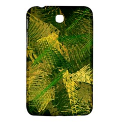 Green And Gold Abstract Samsung Galaxy Tab 3 (7 ) P3200 Hardshell Case  by linceazul