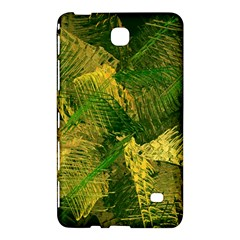 Green And Gold Abstract Samsung Galaxy Tab 4 (8 ) Hardshell Case  by linceazul