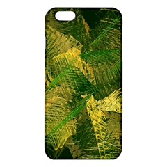 Green And Gold Abstract Iphone 6 Plus/6s Plus Tpu Case by linceazul