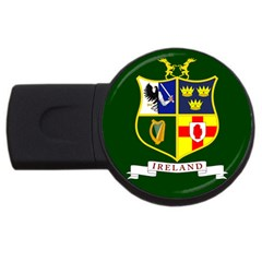 Flag Of Ireland National Field Hockey Team Usb Flash Drive Round (2 Gb) by abbeyz71