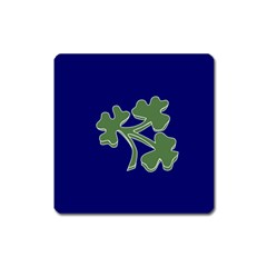 Flag Of Ireland Cricket Team Square Magnet by abbeyz71
