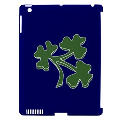 Flag Of Ireland Cricket Team Apple Ipad 3/4 Hardshell Case (compatible With Smart Cover) by abbeyz71