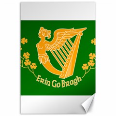 Erin Go Bragh Banner Canvas 24  X 36  by abbeyz71