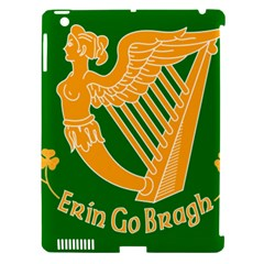 Erin Go Bragh Banner Apple Ipad 3/4 Hardshell Case (compatible With Smart Cover) by abbeyz71