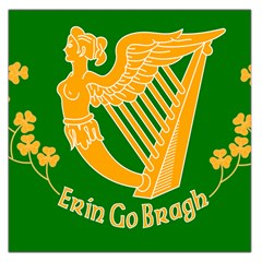 Erin Go Bragh Banner Large Satin Scarf (square) by abbeyz71