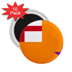 Flag Of The Orange Order 2 25  Magnets (10 Pack)  by abbeyz71