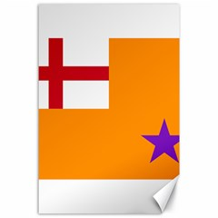Flag Of The Orange Order Canvas 24  X 36  by abbeyz71