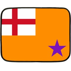 Flag Of The Orange Order Fleece Blanket (mini) by abbeyz71