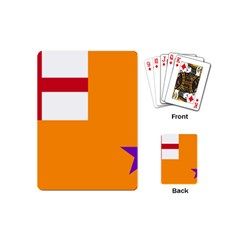 Flag Of The Orange Order Playing Cards (mini)  by abbeyz71