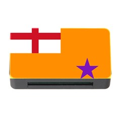 Flag Of The Orange Order Memory Card Reader With Cf by abbeyz71