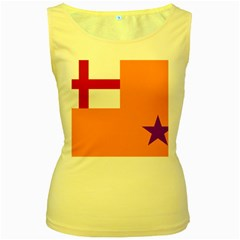 Flag Of The Orange Order Women s Yellow Tank Top by abbeyz71