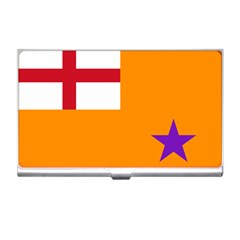 Flag Of The Orange Order Business Card Holders by abbeyz71