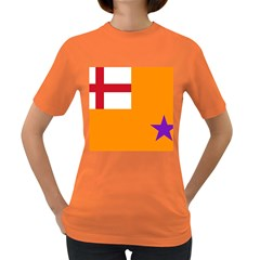 Flag Of The Orange Order Women s Dark T Shirt by abbeyz71