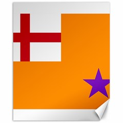 Flag Of The Orange Order Canvas 16  X 20