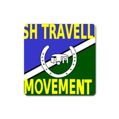 Flag Of The Irish Traveller Movement Square Magnet by abbeyz71