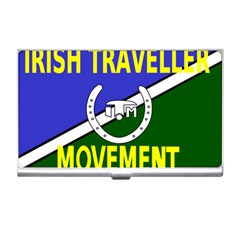 Flag Of The Irish Traveller Movement Business Card Holders by abbeyz71