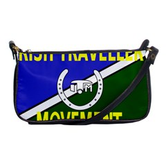 Flag Of The Irish Traveller Movement Shoulder Clutch Bags by abbeyz71