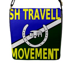 Flag Of The Irish Traveller Movement Flap Messenger Bag (l)  by abbeyz71