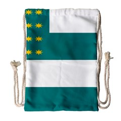 Flag Of Fenian Brotherhood Drawstring Bag (large) by abbeyz71