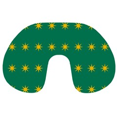 32 Stars Fenian Flag Travel Neck Pillows