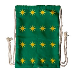 32 Stars Fenian Flag Drawstring Bag (large) by abbeyz71
