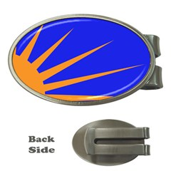 Sunburst Flag Money Clips (oval)  by abbeyz71