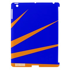 Sunburst Flag Apple Ipad 3/4 Hardshell Case (compatible With Smart Cover) by abbeyz71