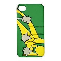 Starry Plough Flag  Apple Iphone 4/4s Hardshell Case With Stand by abbeyz71