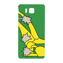 Starry Plough Flag  Samsung Galaxy Alpha Hardshell Back Case by abbeyz71