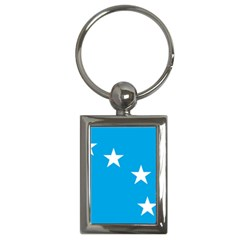Starry Plough Flag Key Chains (rectangle)  by abbeyz71