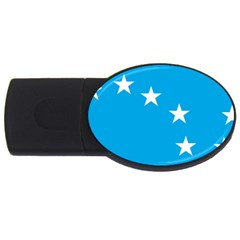 Starry Plough Flag Usb Flash Drive Oval (2 Gb)