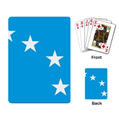 Starry Plough Flag Playing Card by abbeyz71