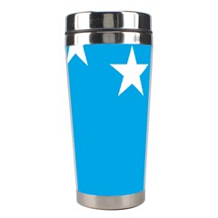 Starry Plough Flag Stainless Steel Travel Tumblers by abbeyz71