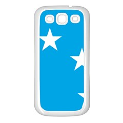 Starry Plough Flag Samsung Galaxy S3 Back Case (white) by abbeyz71