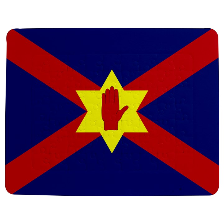 Flag of the Ulster Nation Jigsaw Puzzle Photo Stand (Rectangular)
